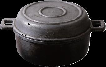 1940年代のュラルミン製パン焼器