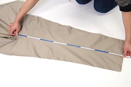 股下の測り方