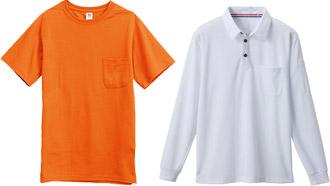 Tシャツ・ポロシャツなどに使用