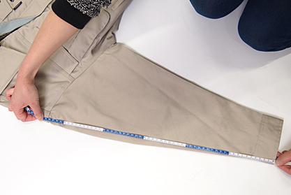 袖丈の測り方
