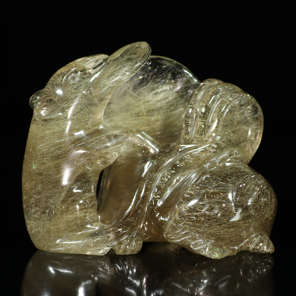 龍亀(ロングイ)の彫り物の画像