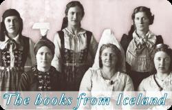 アイスランドの本たち The books from Iceland
