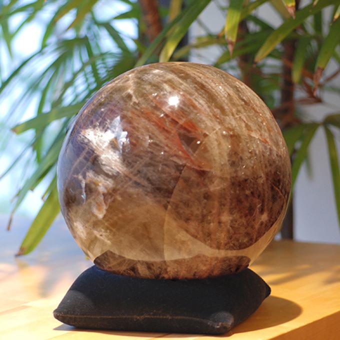 マダガスカル産ムーンストーンの玉