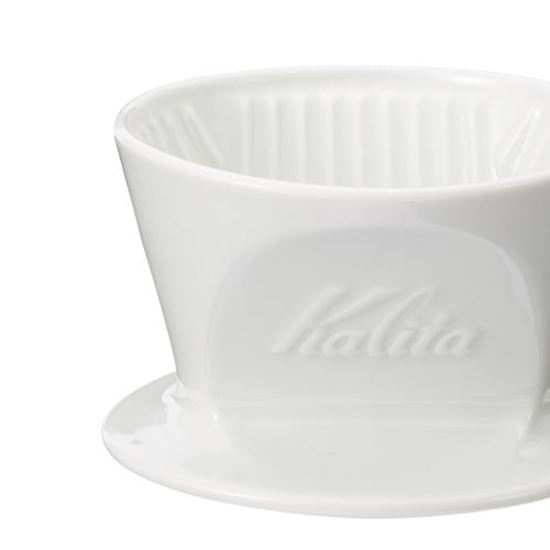 Kalitaと波佐見焼の コラボレーションから生まれた カリタ式三つ穴ドリッパー