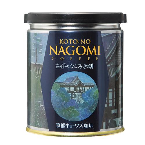 古都のなごみ珈琲 〈 KOTO-NO NAGOMI COFFEE 〉伊砂正幸氏作 型絵染 缶パッケージ