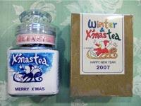 これまで企画・製作したオリジナル紅茶の一例:ウィンターティー - 癒しの紅茶専門店リーフィー