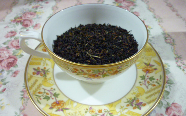 世界三大紅茶のひとつダージリン紅茶を使用した「シャンパーニュの紅茶」