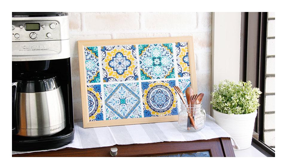 モロッコタイルは絵画のようなインテリアになる