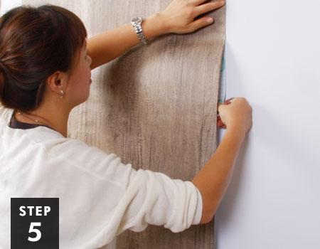 壁紙の貼り方