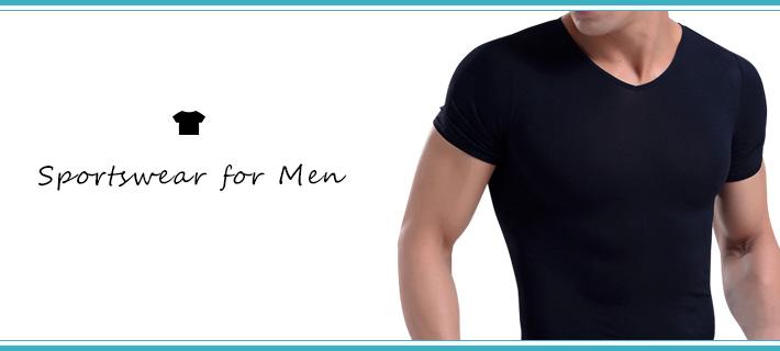 メンズ用のトレーニングウェア・フィットネスウェア