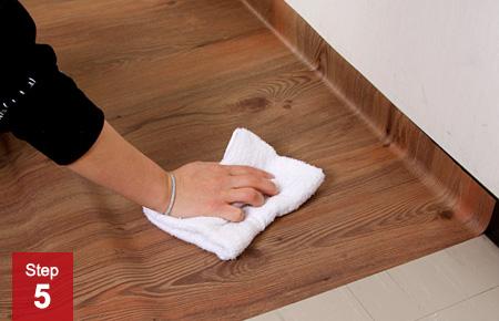 床フロアシートの貼り方