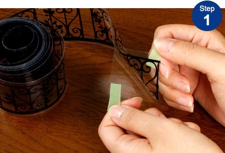 マスキングテープの貼り方