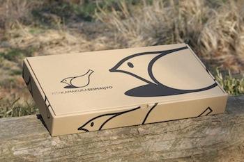 おしゃれなギフトボックス入り無農薬米ギフト「IRODORI GIFT BOX」外箱