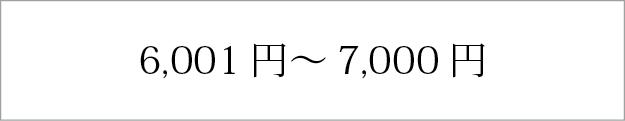 6,001円〜7,000円
