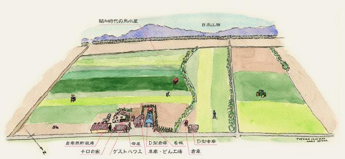 とやま農場マップ