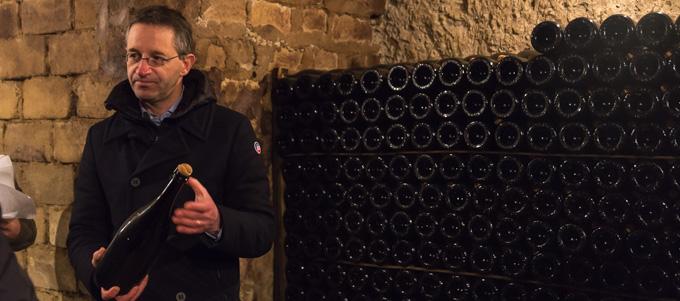 マグナムボトルでリザーヴワインの保管