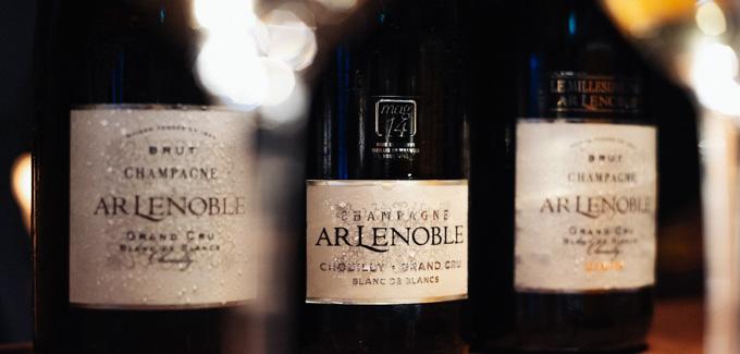 ルノーブルの地下ワインセラー