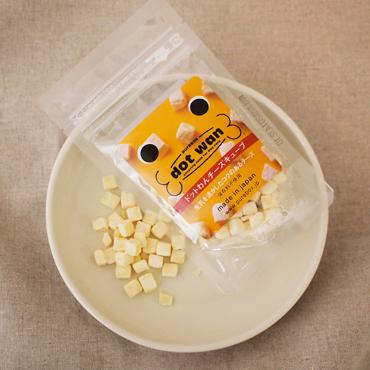 【ドットわん】フリーズドライ チーズキューブ ミニ(25g)