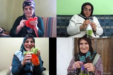 オーマ・ロー歯磨きおもちゃ トルコの女性