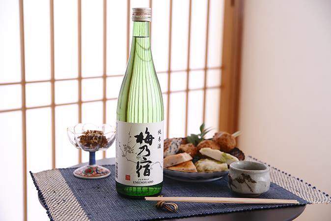 純米酒「梅乃宿」