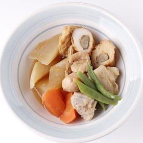 ごぼう天入り根野菜の煮物