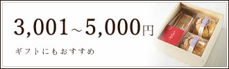 3,001〜5,000円