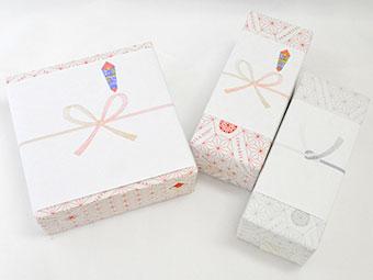 のし+包装紙