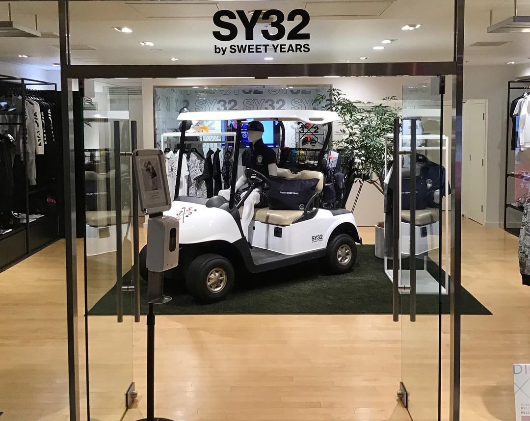 SY32 GOLF LIMITED STORE 表参道ヒルズ店