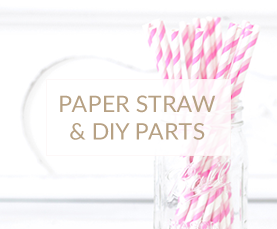 PAPER STRAW & DIY PARTS