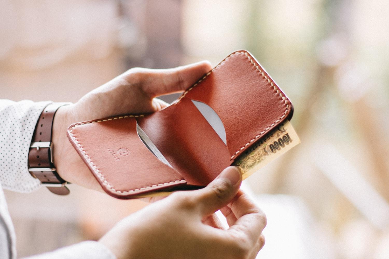 カードとお札のポケット