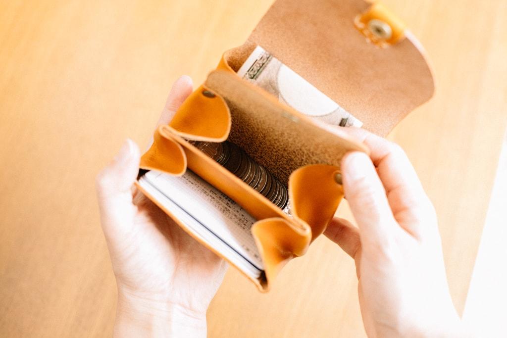 革財布のポケットについて