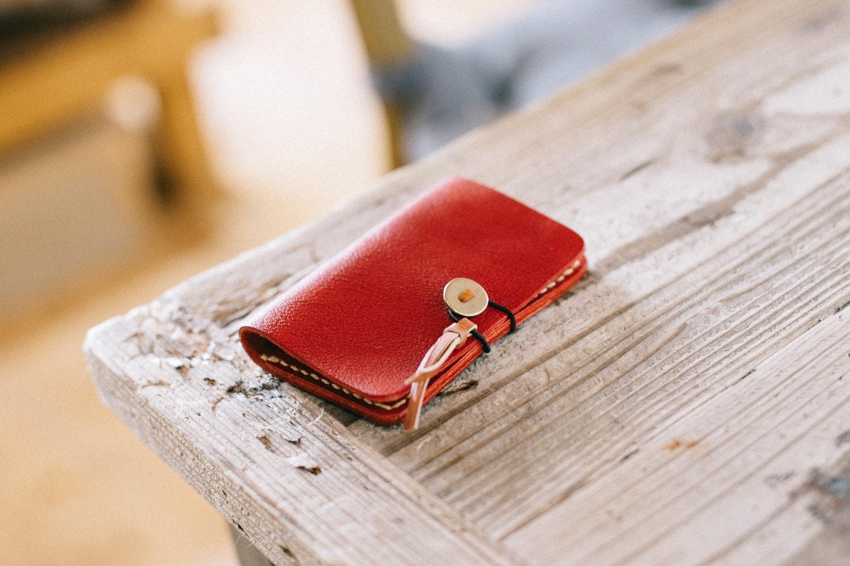 優しい手触りの革の手帳型キーケース | mano キーケース 13003(C)