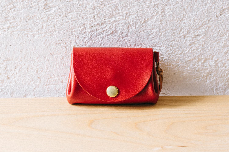 しなやかな革のコンパクトな革財布 | DURAM コイン&カード サプル 13017