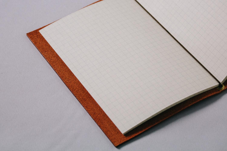 開いたノート