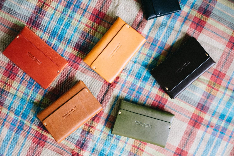 シンプルで機能的な革のカードケース | DURAM カードケース2 16009