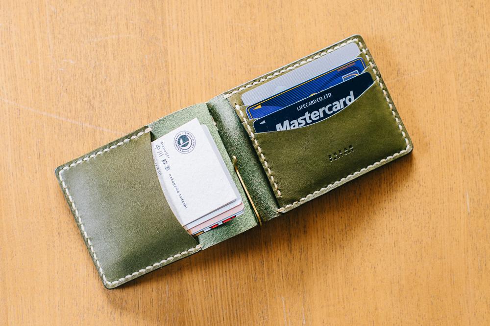 充実したカードポケット