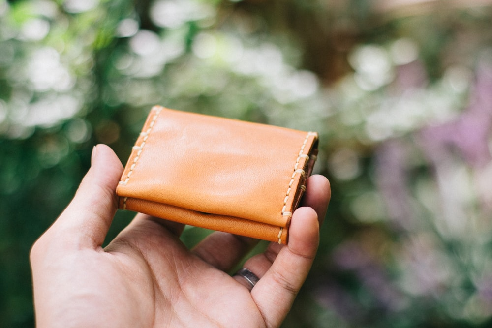 手縫いの箱型コインケース   DURAM BOXコインケース7013(C)