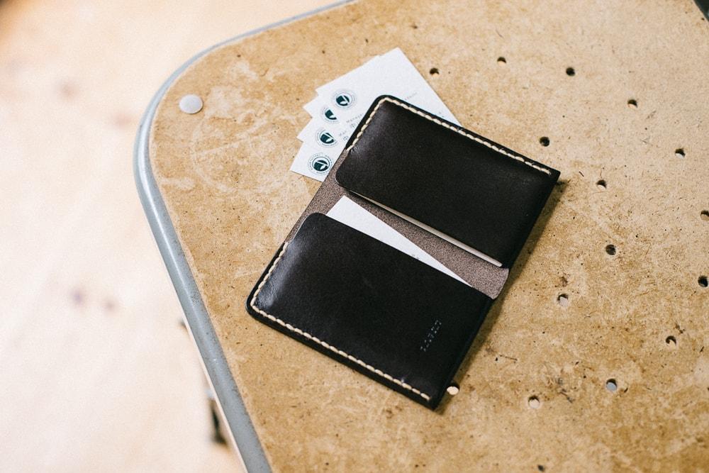 2つのカードポケット