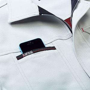 スマートフォン対応ポケット
