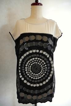 Desigual(デシグアル)Tシャツ ブラック