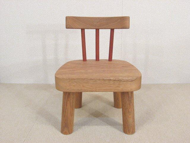 子供椅子 S クルミ