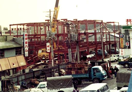 立体駐車場の建設