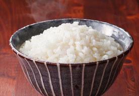 市場のお米