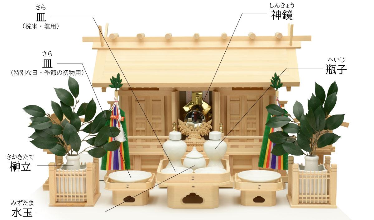 置き 方 神棚 神棚の正しい配置とは。お神札(おふだ)やお供え物の正しい置き方を紹介