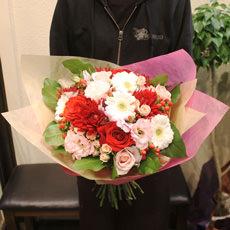 季節の花束(中)ブーケタイプ