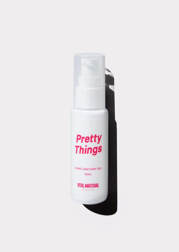 【Pretty Things × VITAL MATERIAL】 ハンドジェル レモン