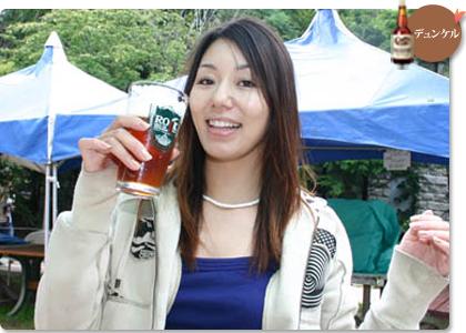 八ヶ岳地ビールタッチダウンを飲んだ方の声プロ スノーボーダー 下村 優子さん