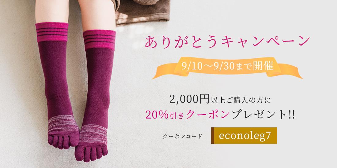 2000円以上お買い上げで20%OFF