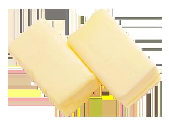 厳選素材:北海道産のバター