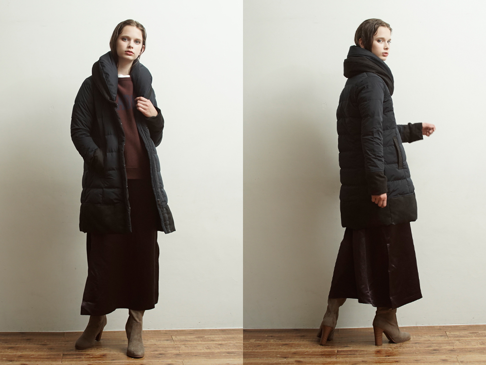 YO912012 Two Piece Collar Coat